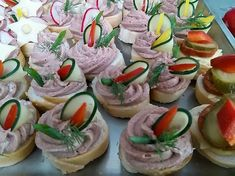 Tapas, Party Sandwiches, Party Treats, Canapes, Appetizers For Party, Holidays And Events, Sushi, Buffet, Brunch