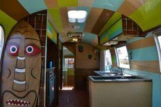 Airstream interior fun.