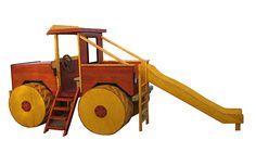 oyun parkı-traktör
