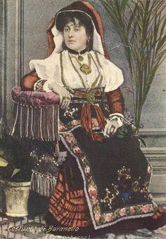 BARANELLO Molise costume fototipia Beretta Terni foto Trombetta