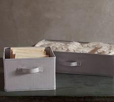 Sutton Soft Storage #potterybarn