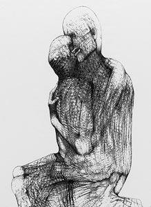 DmochowskiGallery.net - galeria - Sala 16. Grafiki komputerowe. Lata 2000-czne Portraits, Pointillism, Art Database, Art Model, Figure Drawing, Art World, Dark Art, Line Art, Fantasy Art