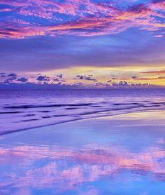 Pastel Lavender Sunset