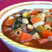 Minestrone Soup, Recipe from Cooking.com