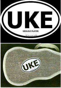 Uke Stickers