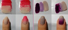 Beauty Angel: Ombre Nails Tutorial