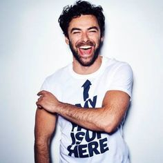"""""""I'm fat now."""" This article makes me so happy. It IS freakin hard to be in shape. I love you, Aidan Turner. Abs or no abs, you're a stud."""