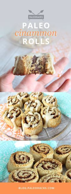 Ooey gooey #Paleo cinnamon rolls are to die for… and are approved for your Paleo lifestyle! For the full recipe visit us at: http://paleo.co/paleocinnamonroll