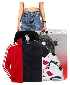 """""""Glow day"""" by charming-216 on Polyvore featuring MCM and adidas"""