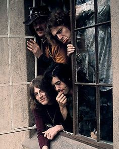 the60sbazaar:  Led Zeppelin photographed at the Chateau Marmont