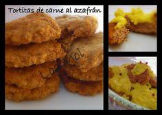 Cakemol: Tortitas de carne en salsa de azafrán
