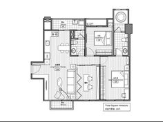Apartment Designs from Taiwan : Photos, Projects and Inspirations   Ideas   PaperToStone