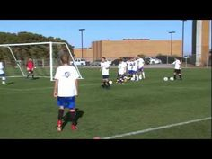 Soccer Training - Shooting Drills 1 - YouTube