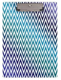 Chevron pattern clipboard $34.20