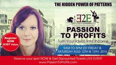 Join me in August 12th as I share insights about how to turn Your passion into profits ... after we find out what patterns keep you from doing that right now. Engage with me and other speakers to take away the skills you need. I have a few tickets left to sell... limited space... see you there so I can support You. #successrev #revo #entrepreneur #event #profit #business #skills