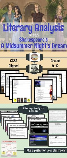 an analysis of the characters of a midsummer nights dream by william shakespeare dreams are reality Puck and bottom in a midsummer night's dream - one of william shakespeare's best remembered plays for its comical and ironic tone is a midnight's summer dream there were characters designed to be humorous and that alone puck and bottom behave very much alike, and have similar roles for different people.
