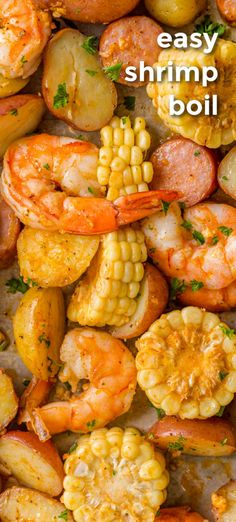 Seafood Boil Recipes, Lobster Recipes, Fish Recipes, Cooked Shrimp Recipes, Shrimp Boil Recipe Old Bay, Boiled Shrimp Old Bay, Shrimp Boil Seasoning Recipe, Boiled Food, Shrimp Dishes