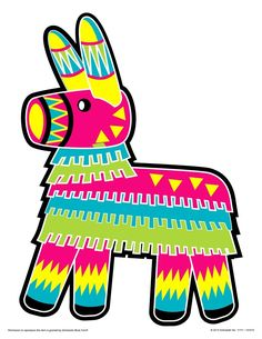 Pinata Clipart - Clipart Suggest Fiesta Theme Party, Party Themes, Party Ideas, Feliz Compleanos, Mexican Flowers, Spring Books, Fiesta Decorations, Flower Clipart, Mexican Party