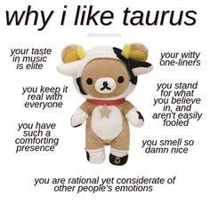Zodiac Signs Chart, Zodiac Funny, Zodiac Signs Astrology, Zodiac Signs Horoscope, Zodiac Star Signs, Zodiac Taurus, Taurus Memes, Taurus Quotes, Taurus Traits