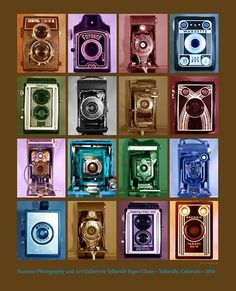 This is cool. Antique Cameras