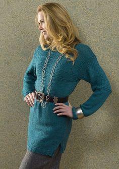 NaturallyCaron.com :: Birmingham Portugese Fisherman Sweater  free pattern