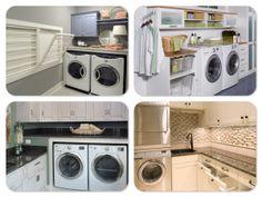 laundry rooms ~ like the drying racks