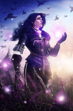 lilenart:  Yennefer of VengerbergWasnt sure if finishing this one or Captain Phasma, I guess Phasma its next.  So beautiful *^*