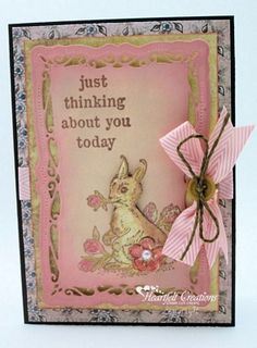 Heartfelt Creations | Just Thinking Abou You Bunny