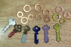 torch enameled keys