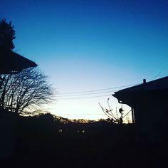 おはよーございます 空にコントラストが残る朝です  #みんなのIT #おはよう #ohayo #群馬県 #高崎市 システムコンサルタント #gunma #takasaki