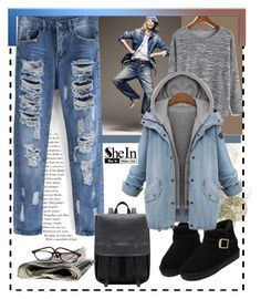 """""""shein 1"""" by amelakafedic ❤ liked on Polyvore featuring moda, Universal Lighting and Decor ve Ralph Lauren"""