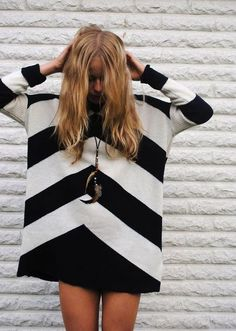 BLACK & WHITE STRIPES | THE STYLE FILES