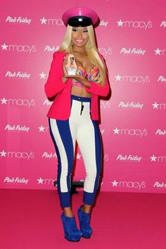 Nicki Minaj is the latest celebrity to hop on the trend of revealing their real tresses to the world. Nicki Minaj, Lifestyle, Celebrities, Pink, Hair, Stars, Fashion, Moda, Celebs