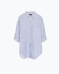Image 7 of STRIPED COTTON SHIRT from Zara