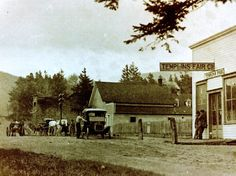 Templin's Fair Grocery, circa 1908 Orcas Island, This Is Us, Cabin, House Styles, Home Decor, Homemade Home Decor, Cabins, Cottage, Decoration Home