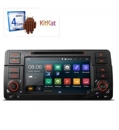 "PF7346BA - 7"" Android 4.4.4 KitKat Quad Core Car DVD Player with Screen Mirroring Function & OBD2 for BMW E46 / 320 / 325. HIGHLIGHTS: 1. Superior Quad - core CPU Processor; 2. Super - clear 1080P Video Enjoyment; 3. Supports OBD2 Function; 4. Screen Mirroring Function; 5. Steering Wheel Control Ready (CANbus Box Provided). caraudiopoint.co.uk/index.php/car_admin/catalog_product/index/key/25524ff442171bef47881c872b25a9f3/"