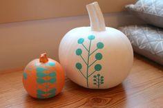 DIY Project: Modern Decaled Pumpkins Assemble Shop & Studio Blog