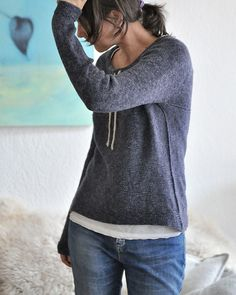 This design was created in a lovely collaboration with Schachenmayr yarns. Thank you Tanja! Ravelry, Pullover, Knitting, Yarns, Crochet, Collaboration, Pattern, Sweaters, Crafty
