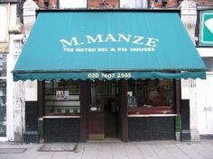M. Manze Oldest Pie & Mash Shop in London, Tower Bridge Road