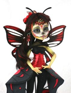 Monster High Custom OOAK repaint Azucena by Ambar in Dolls & Bears, Dolls, By Brand, Company, Character | eBay