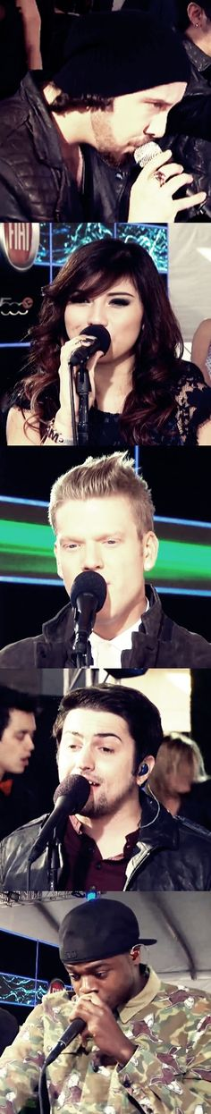 PTX... just went to a concert, Scott. Blew kisses at us. YES!!!!!!VICTORY!!!!!! I want to meet them so bad.