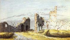 Friedrich, Caspar David: Die Ruine des Klosters Eldena