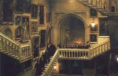 If I had a house of my own there would be moving staircases..like in Harry Potter