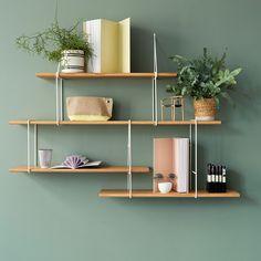 Link Shelf Setup B - White/Oak | Studio Hausen