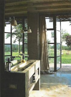 glorious bathroom #doors
