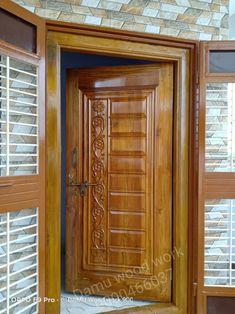 Modern Entrance Door, Main Entrance Door Design, Wooden Front Door Design, Modern Wooden Doors, Front Gate Design, House Front Design, Entrance Doors, Wood Doors, House Ceiling Design
