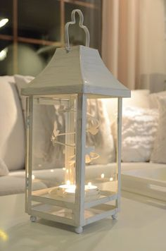 I love this party lite lantern! It is so cute!