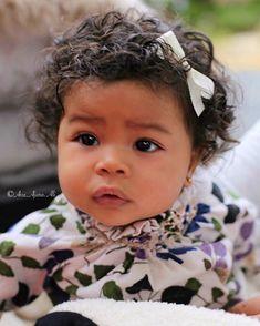 Winter looks good on Ava🤩🙌 * * Ha Cute Mixed Babies, Cute Black Babies, Black Baby Girls, Beautiful Black Babies, Cute Little Baby, Cute Baby Girl, Pretty Baby, Beautiful Children, Little Babies
