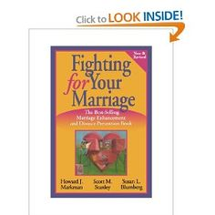 Fighting for Your Marriage: Positive Steps for Preventing Divorce and Preserving a Lasting Love - Groundbreaking studies have found that couples can use the strategies of this approach to handle conflict more constructively, protect their happiness, and reduce the odds of breaking up. *Talk more and fight less  *Deepen and protect your friendship  *Have a more intimate, sensual relationship  *Keep the fun alive  *Clarify and act on your priorities  *Develop a vision for your future together