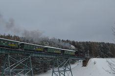 Mit Dampf durch das Erzgebirge, die Fichtelbergbahn